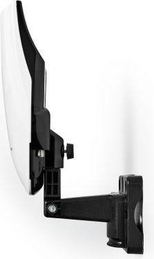 Nedis Outdoor HDTV Antenna | 0 - 50 km | Gain 40 dB | FM/VHF/UHF | White, ANOR5002BK700