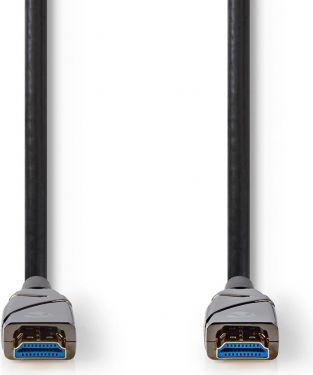Nedis High Speed HDMI™-kabel med Ethernet | AOC | HDMI™-stik – HDMI™-stik | 75,0 m | Sort, CVBG3400B