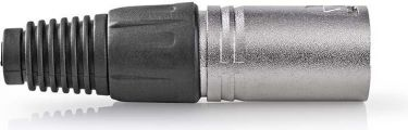 Nedis XLR Connector   XLR 5-pin Male   10 pieces   Metal, CAGP15972ME