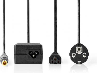 Nedis Notebook-adapter 90 W | 7,9 x 5,5 mm midterben | 20 V/4,5 A | Til IBM | Strømledning medfølger