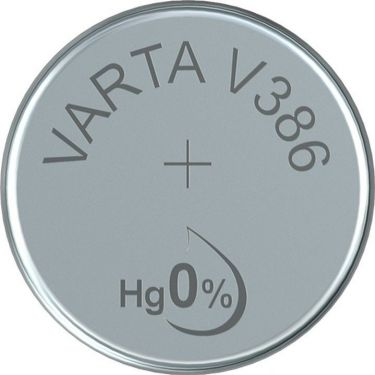"<span class=""c9"">VARTA -</span> SR43/V386/V12GS Sølvoxid knapcelle 1,55V / 105mAh (1 stk.)"