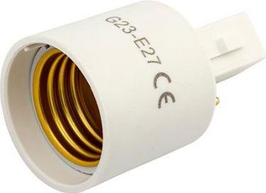 Pæresokkel adapter G23 til E27
