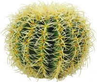 Europalms Barrel Cactus, artificial plant, green, 27cm