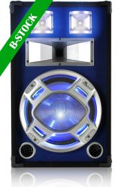"Disco Speakerbox 12"" LED 600W Blue ""B-STOCK"""