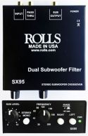 Rolls SX95 Stereo Subwoofer crossover, Stereo subwoofer crossover/f