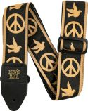 Ernie Ball EB-4613 Peace Love Dove, Guitar Strap, The world's numbe