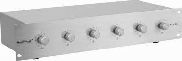 "<span class=""c9"">Omnitronic -</span> Omnitronic 6 kanals PA volumenkontrol f. 20W højttalere"