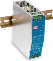 MeanWell DIN-skinne strømforsyning 12V / 120W (10A)