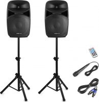 VPS152A Plug & Play 1000W Speaker Set with Stands