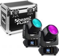 Fuze75B Beam 75W LED Moving Head Set 2 Pieces in Flightcase