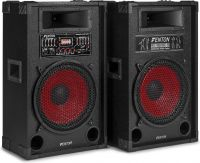 "SPA1200 PA Active Speaker Set 12"" SD/USB/MP3"