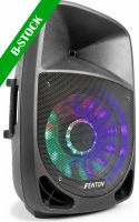"Aktive Højttalere, FT1500A Active speaker 15'''''''' MP3/BT/LED ""B-STOCK"""
