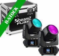 "Fuze75B Beam 75W LED Moving Head Set 2pcs in Flightcase ""B-STOCK"""