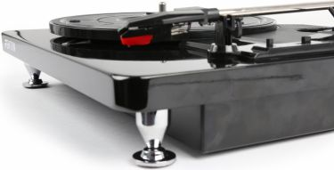 RP120 Record Player Piano finish Black/Chrome