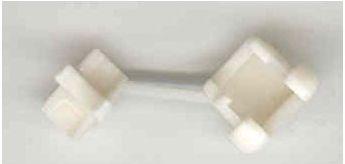 Trækaflastning til rund kabel 4,2-5,2mm (kabinet 0,5-1,6mm)