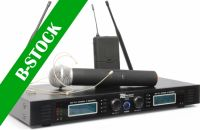 "PD732C 2x 16-Channel UHF Wireless Microphone System True Diversity Combi ""B-STOCK"""