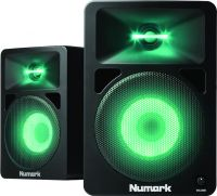 Numark N-Wave 580L, Powered DJ Monitors with Pulsating Lights