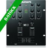 """Numark M101BLACK, 2-Channel All-Purpose Mixer """"B-STOCK"""""""