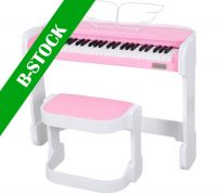 "Artesia AC49PNK Pink piano incl. stand, Music is Fun and so is theA ""B-STOCK"""