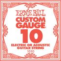 Sortiment, Ernie Ball EB-1010, Single .010 Plain Steel string for Electric or