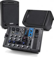 Samson XP300B, All-in-one portable sound system