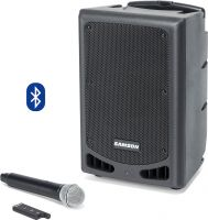 Samson XP208W Portable PA System, Rechargeable Portable PA with Han