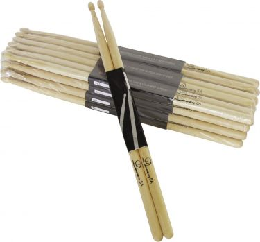 Dimavery DDS-5A Drumsticks, maple