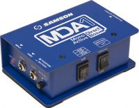 Samson S-MAX MDA1, Mono Active Direct Box is ideal for running long