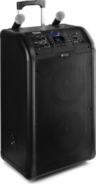 "PA300 Portable 2 x 8"" Sound System SD/USB/MP3/BT"