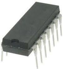 74LS04 HEX Inverter 6 kanaler (DIP14)