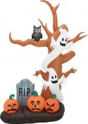 Europalms Inflatable Figure Haunted Tree, 270cm