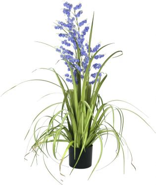 Europalms Bellflower, artificial flower, purple, 105cm