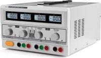 "<span class=""c9"">Velleman -</span> Laboratorie strømforsyning 2 x 0-30V / 0-3A m. LCD display"