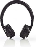 Nedis Wired Headphones | On-ear | Foldable | 1.2 m Detachable Cable | Black, HPWD2100BK