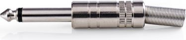 Nedis Monojackstik   6,35 mm hanstik   25 stk.   Metal, CAVC23980ME