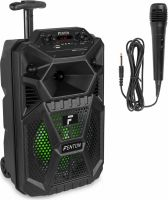 "FPC8T Portable Party Speaker Rechargeable 8"" with Trolley"