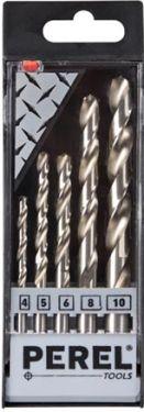 HSS metalborsæt 4, 5, 6, 8, 10mm