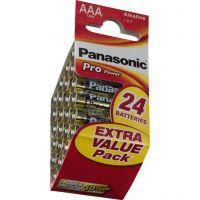 Batteri alkaline AAA (x24) LR-03/24