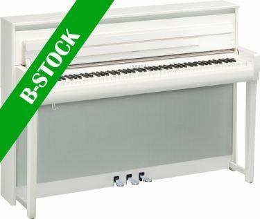 "Yamaha CLP-685PWH DIGITAL PIANO (POLISHED WHITE) ""B-STOCK"""