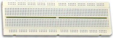 """<span class=""""c10"""">Velleman -</span> Loddefri forsøgsbord (Breadboard) 840 huller"""