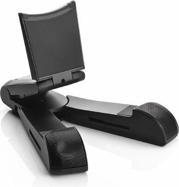 """<span class=""""c9"""">Cabstone -</span> SoundStand Bluetooth Trådløs højttaler og tablet stand"""