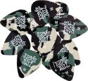 Musikinstrumenter, Ernie Ball EB-9222 Camo Pick Medium (12p), 12-pack Camo picks Mediu