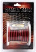 """Højttalerkabler, <span class=""""c10"""">Velleman -</span> Højttalerledning 2 x 1,5mm² CU, rød/sort (10m)"""