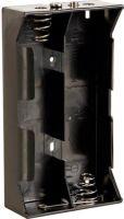Batterier og tilbehør, Batteriholder til 4 x D bat. (m. knapterminaler)