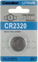 """Batterier og tilbehør, <span class=""""c10"""">Camelion -</span> Camelion CR2320 Lithium knapcelle, 3V / 130mAh (1 stk.)"""