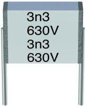 MKH kondensator 1,8nF (0,0018uF) 400V 7,5mm