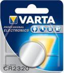 """Batterier og tilbehør, <span class=""""c10"""">VARTA -</span> Varta CR2320 Lithium knapcelle, 3V / 135mAh (1 stk.)"""