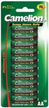 "<span class=""c10"">Camelion -</span> Camelion Zink Carbon AA/R6 / 1,5V 1200mAh (10 stk.)"