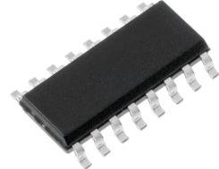 74HC165D IC 8 bit shift register, SMD (SO16)