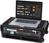 SKB 1SKB-iSF2U Studio Flyer 2U rack Case